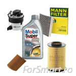 Set filtre MANN Smart ForTwo/Roadster Benzina
